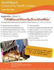 Fall Prevention Awareness